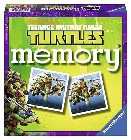 Ravensburger - 22229 - Jeu de Société Educatif - GD Memory Ninja Turtles