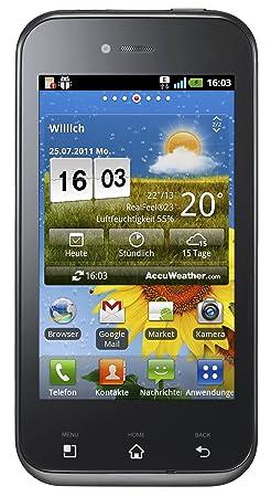 LG E730 Optimus Sol Smartphone débloqué (Ecran: 3.8 pouces) Noir (import Italie)