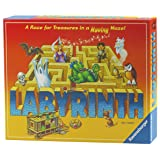 Ravensburger Labyrinth Board Game for Kids and Adults - Easy to Learn and Play With Great Replay Value (Color: Brown, Tamaño: Standard)