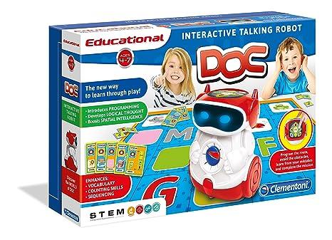 Clementoni – Doc – Robot Educatif Parlant Anglais