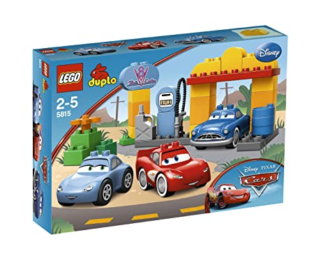LEGO - 5815 - Jeux de construction - LEGO DUPLO cars - Le V8 café de Radiator Springs