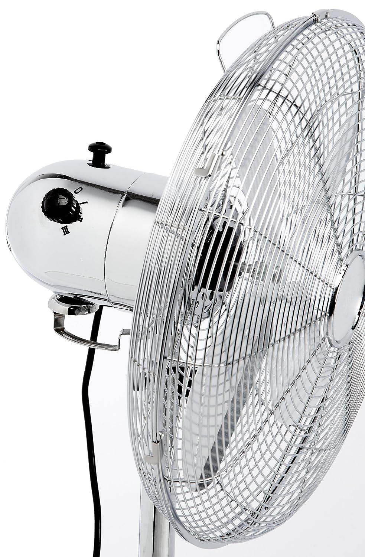 <p>Ventilador de pie AEG met&aacute;lico de potencia 55w</p>