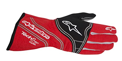 ALPINESTARS 3550014 - 31 Gants pour Auto, Rouge/Noir, Taille : L