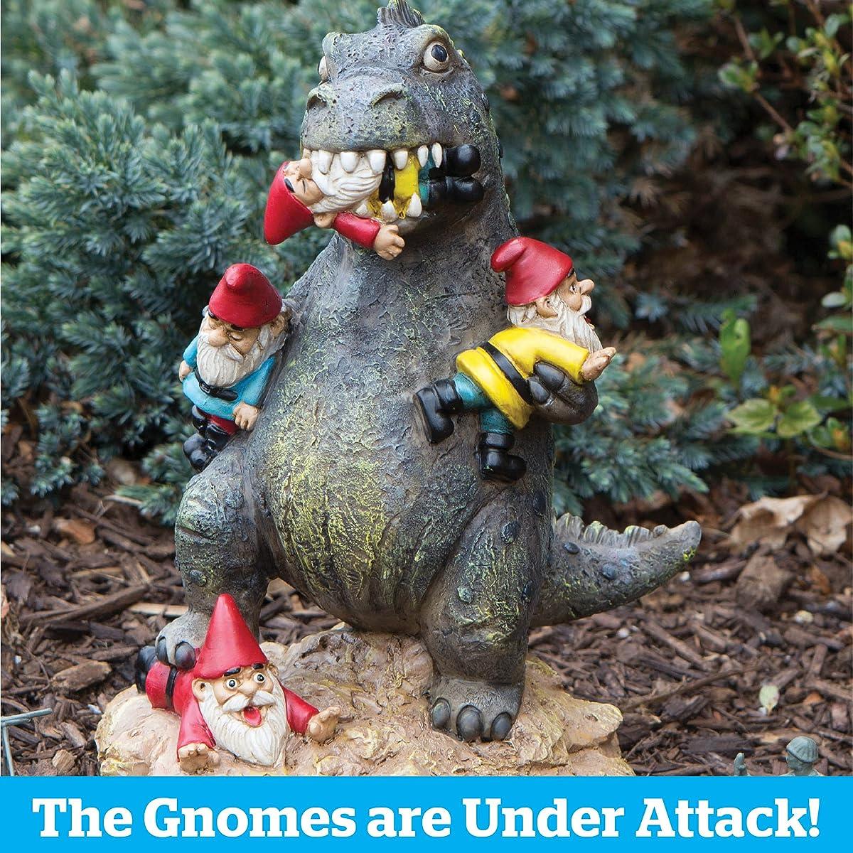 BigMouth Inc The Great Garden Gnome Massacre, Perfect Funny Garden Accessory