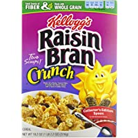 4-Pack Raisin Bran Crunch Cereal Boxes