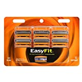 Personna EasyFit Fusion 5 Compatible 12 Refill Razor Blade Cartridges – Compatible with all Fusion razors – Triple Coated Razor Blade Edges For A Smooth 5 Blade Shave