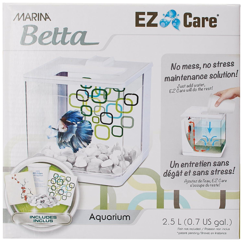 Fish aquarium in nagpur - Marina Betta Ez Care Aquarium 2 5 L White