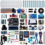 Smraza Uno R3 Starter Kit for Arduino with 200pcs Components compatible with Arduino UNO Mega2560 ( 67 Items ) (Color: UNO Ultimate Kit)