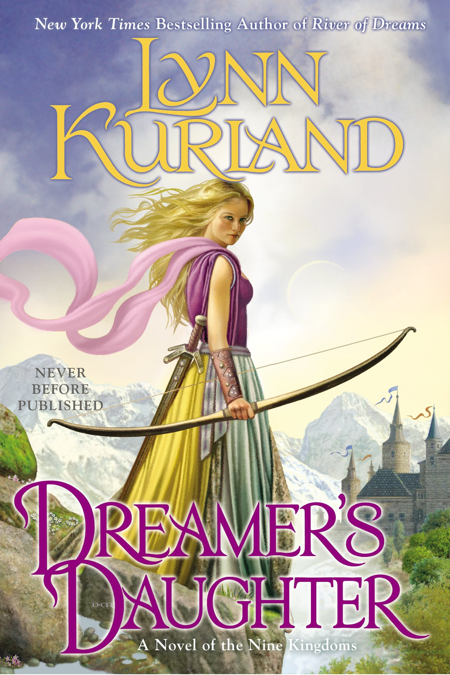 http://www.amazon.com/Dreamers-Daughter-Novel-Nine-Kingdoms/dp/0425262847