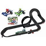 Carrera GO!!! Nintendo Mario Kart 1:43 Scale Electric Powered Slot Car Race Track Set System 20 Feet (Tamaño: Ages 8+)