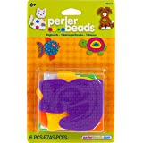 Perler Beads Small Animal Pegboards - 4 Count (Color: Brown/a)
