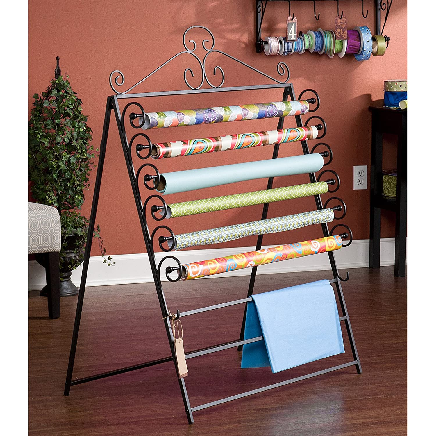 Holly & Martin Evelyn Easel / Wall-Mount Craft Storage Rack