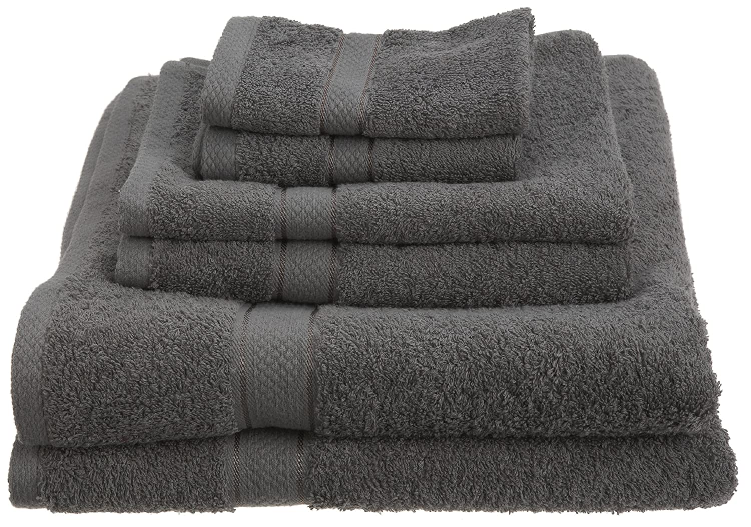 Pinzon Egyptian Cotton 725-Gram 6-Piece Towel Set