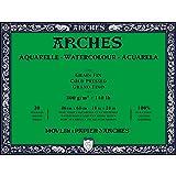 Arches Watercolor Paper Block, Cold Press, 18