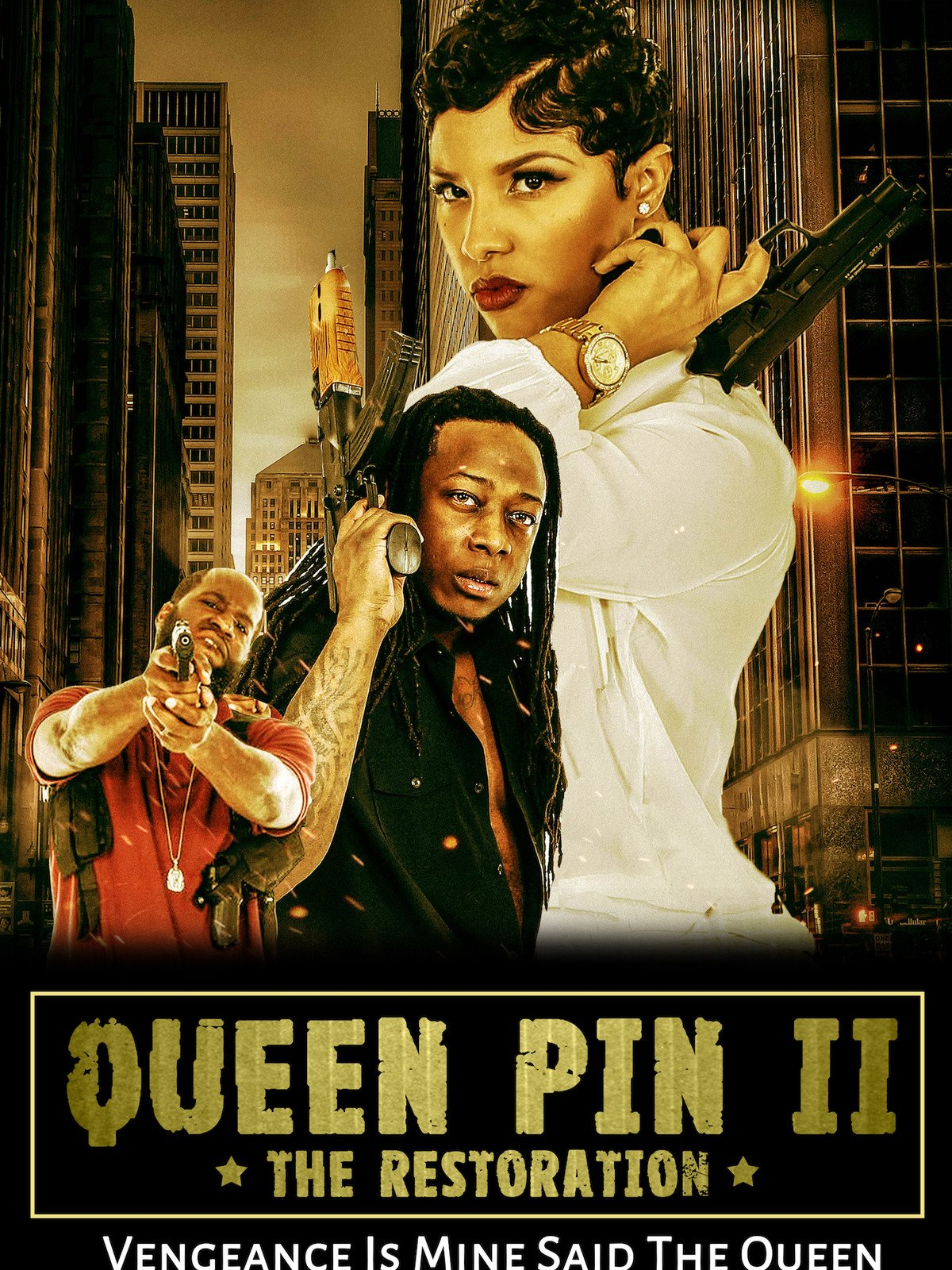 "Queen Pin II ""The Restoration"""