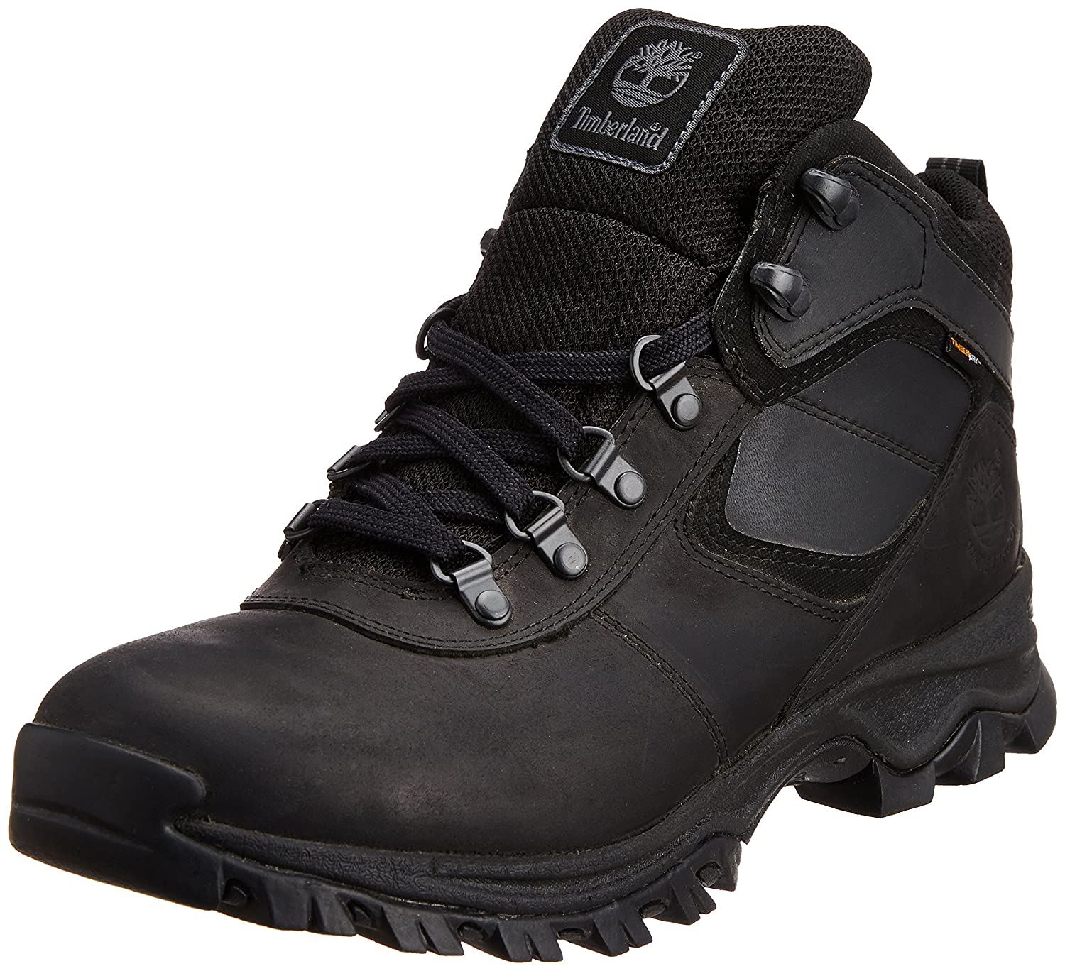 all black classic timberland boots