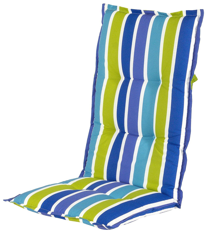 Hartman 14705130 Kissen Hochlehner 123 x 50 cm, Dessin Miami Duo blau bestellen