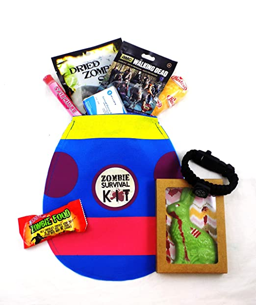 12 good easter gift ideas for adult men gift canyon zombie apocalypse survival easter gift basket negle Choice Image