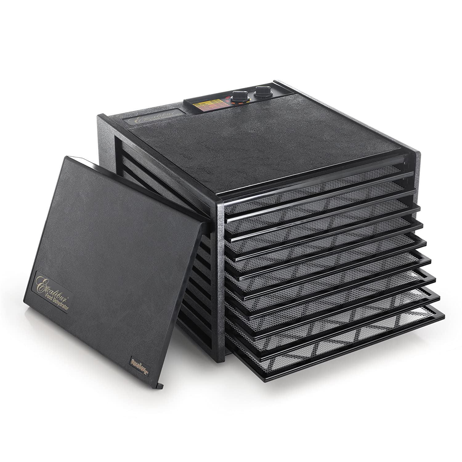 The Excalibur 3926TB is an excellent purchase if you want great-tasting dehydrated food.
