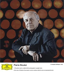 Image of Pierre Boulez