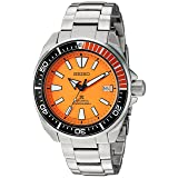 Seiko ' Prospex' Automatic Stainless Steel Casual Watch, Color:Silver-Toned (Model: SRPC07) (Color: Silver)