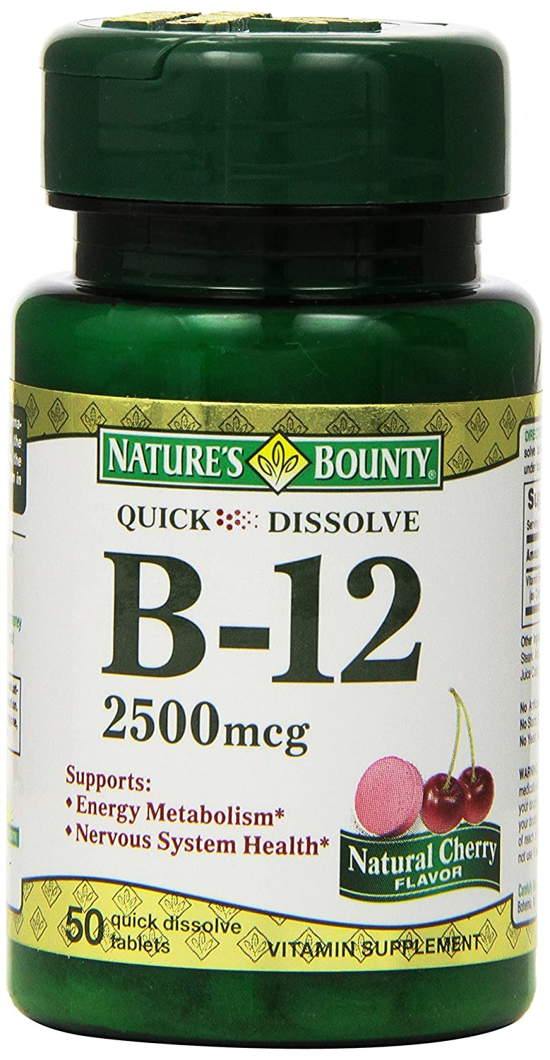 Sublingual b12 benefits and effects