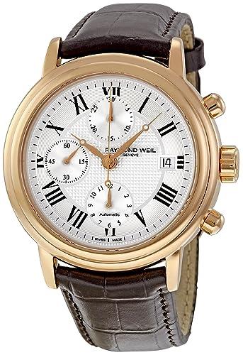 Raymond Weil Men's 7737-PC5-00659 Maestro Chronograph Watch