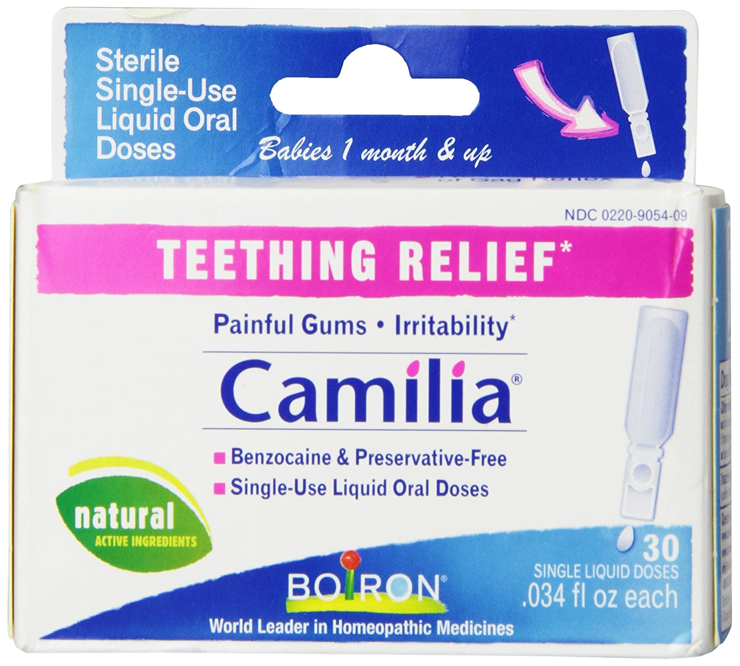 Does camilia work for teething