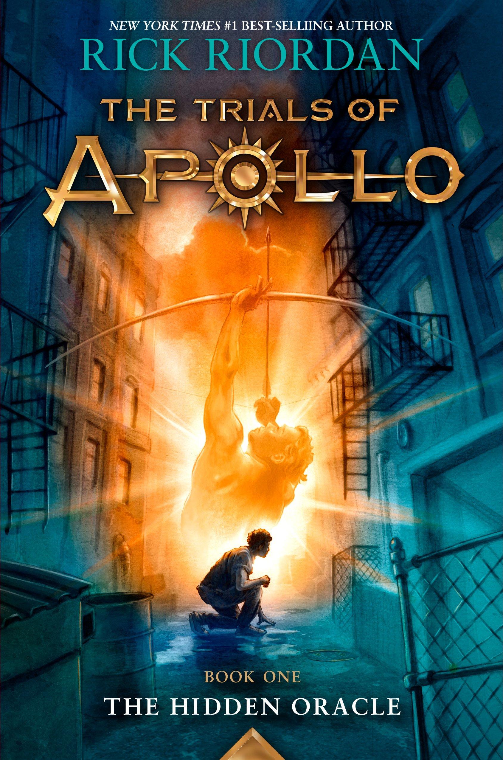 Portada The Trials of Apollo: The Hidden Oracle