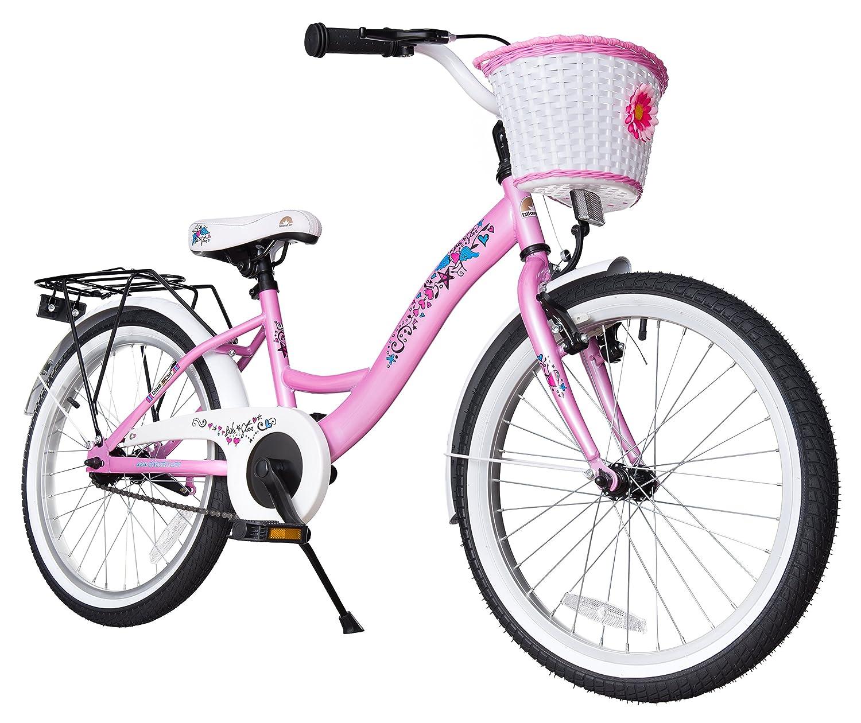 BIKESTAR® Premium Kinderfahrrad für sichere und sorgenfreie Spielfreude ab 6 Jahren ★ 20er Classic Edition ★ Märchenhaft Pink jetzt kaufen