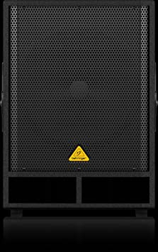 """Caisson de basses 18"""" 500W Behringer VQ1800D"""