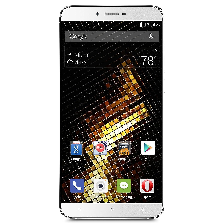 "BLU VIVO 5 Smartphone -5.5"" 4G LTE GSM Unlocked - 32GB +3GB RAM - Silver"