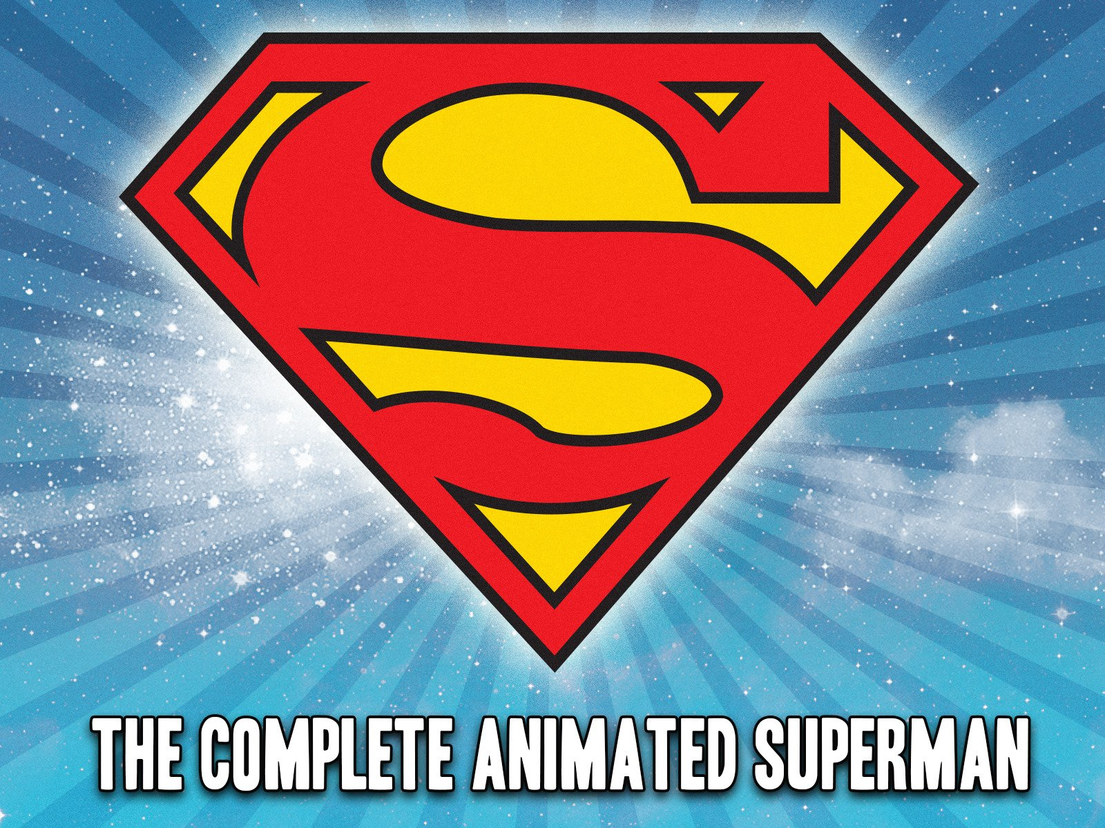 The Complete Animated Superman on Amazon Prime Instant Video UK