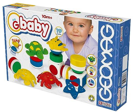 Giochi preziosi - Geomag Baby - 6968 - Jeu éducatif Premier âge - Sea Large