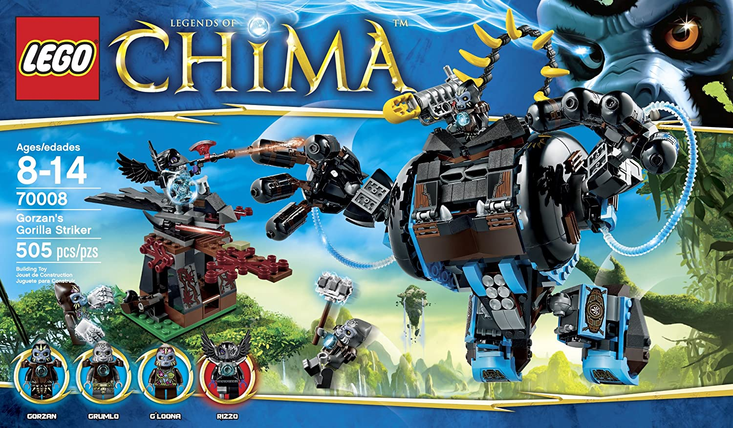 Lego Chima Coloring Pages Pdf : Lego chima gorilla coloring pages cfapreparation