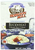 Hodgson Mill Gluten Free Buckwheat Creamy Hot Cereal, 13 Ounce (Pack of 6)