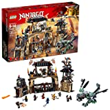 LEGO NINJAGO Masters of Spinjitzu: Dragon Pit 70655 Ninjago Toy Building Kit with Green Dragon Model, Ninja Action Battle Playset for Kids (1660 Piece) (Color: Multicolor)