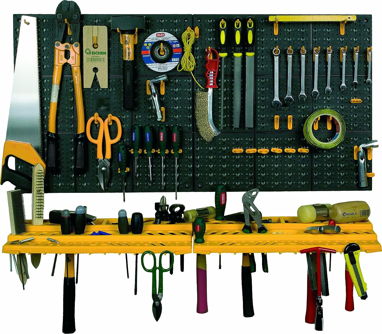 Panel de pared para colgar herramientas