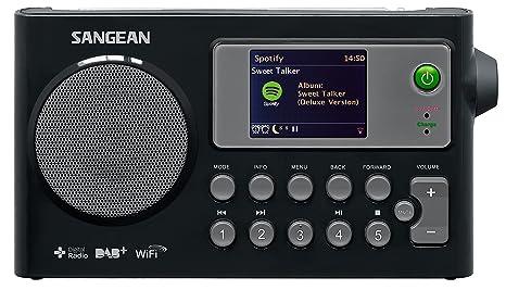 Sangean 4711317991863 Radio portable Noir