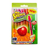 Mr. Sketch 1951331  Scented Twistable Crayons, Assorted Colors, 18-Count (Color: Assorted Colors, Tamaño: 18-Count)