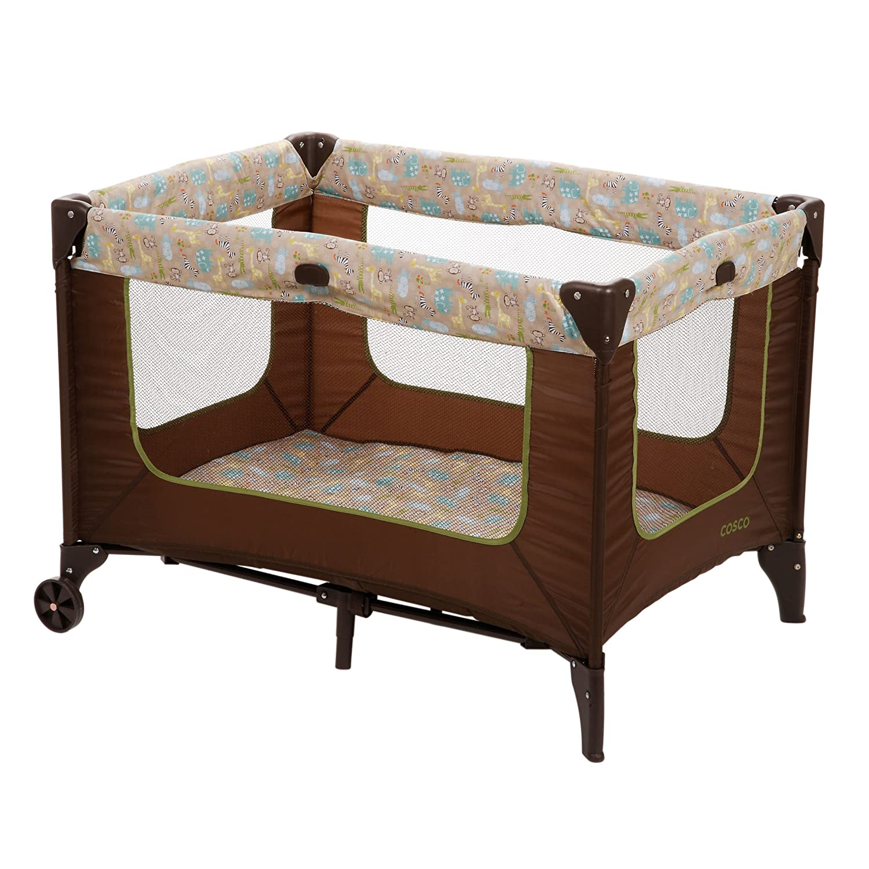 Baby Play Pen Bed Infant Portable Crib Bassinet Nursery
