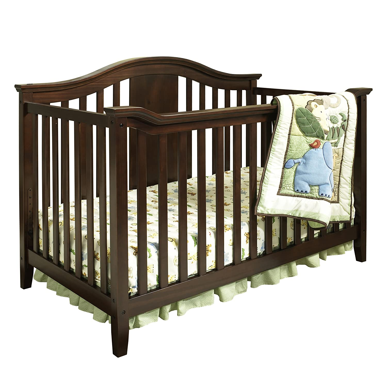 Dorel Asia Lewis 4 in 1 Convertible Crib