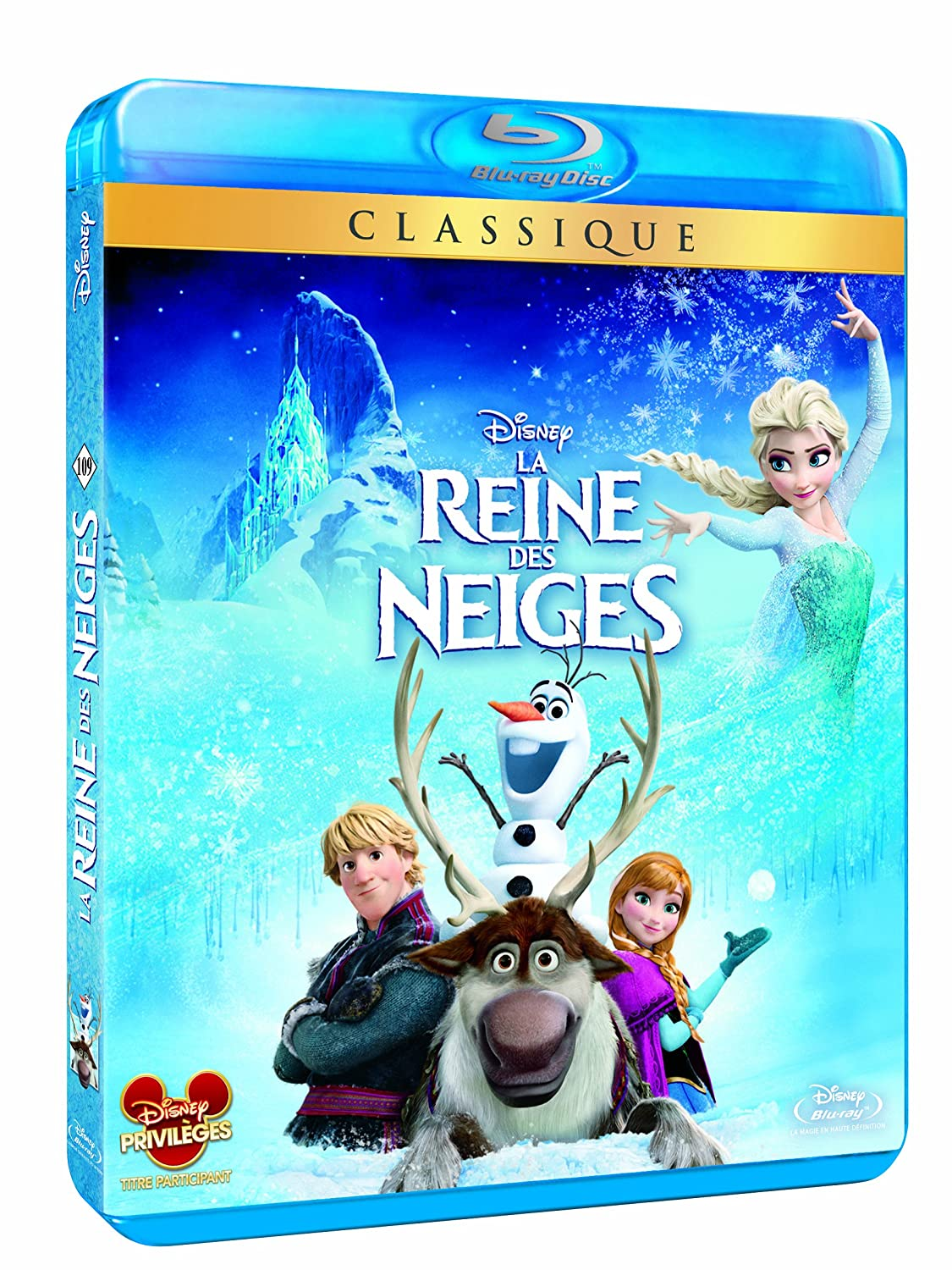 bluray dvd la reine des neiges 4 avril 2014. Black Bedroom Furniture Sets. Home Design Ideas