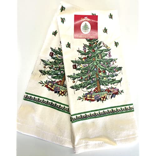 Spode Christmas Tree Kitchen Towel - Set of 2 (Full Tree)