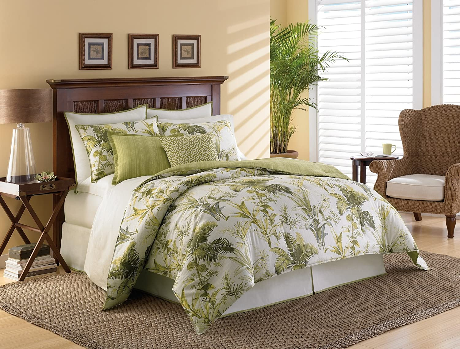 Green Bedding And Bedroom Decor Ideas. Tommy Bahama Bedding Songbird  Reversible Quilt Set Reviews Wayfair