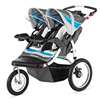 Schwinn Turismo Swivel Double Jogger Review - Double Umbrella Stroller Guide