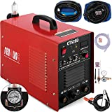 Mophorn TIG/MMA Plasma Cutter CT520D 3 in 1 Combo Welding Machine Tig Welder 200A Arc Welder 200A Plasma Cutter 50A Plasma Cutting Machine Dual Voltage 110 220V (Color: Tig/Arc/Plasma Cutter 50Amp)