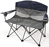 Stansport Apex Double Arm Chair (Navy/Gray)