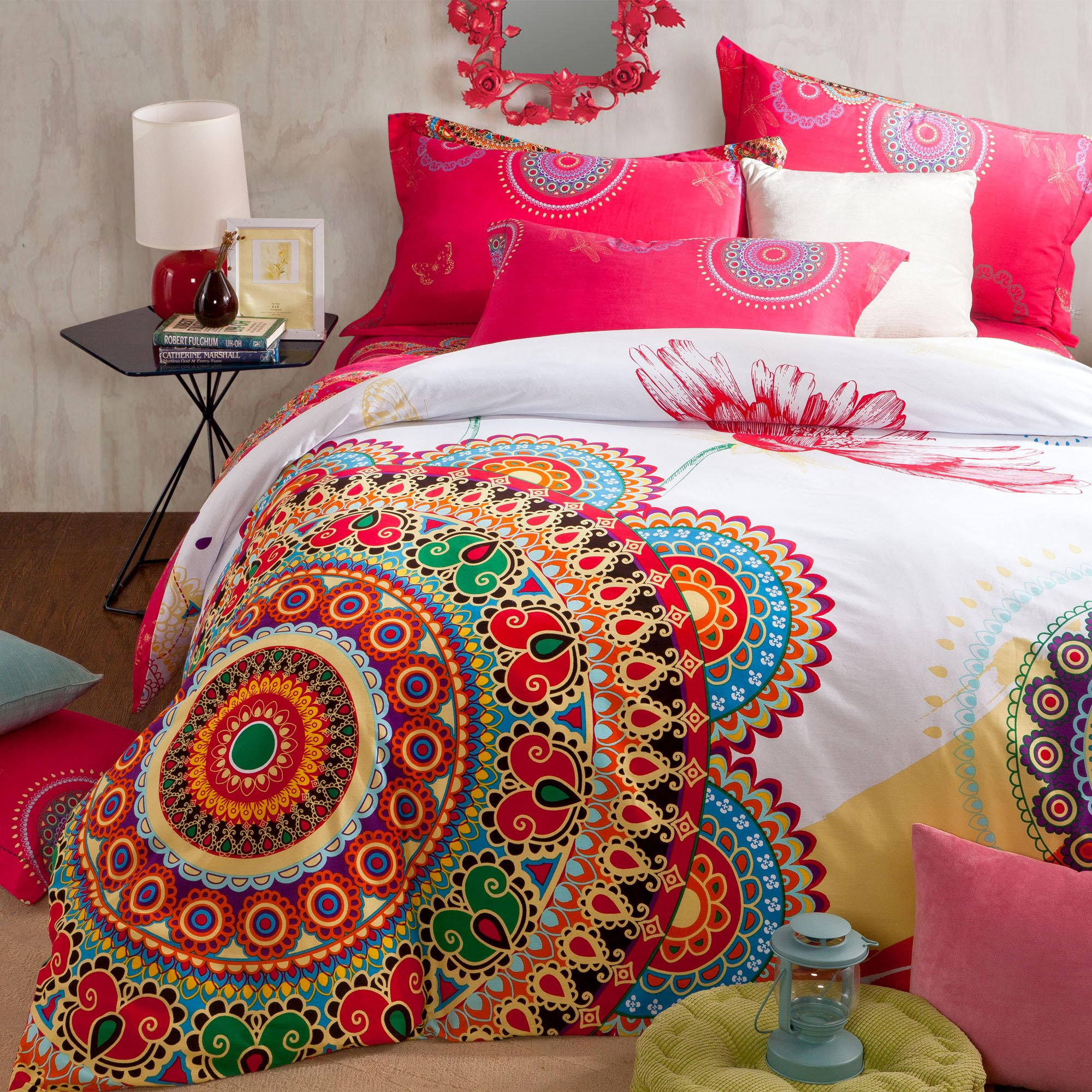 Brandream Boho Bedding Set Bohemian Duvet Covers Queen
