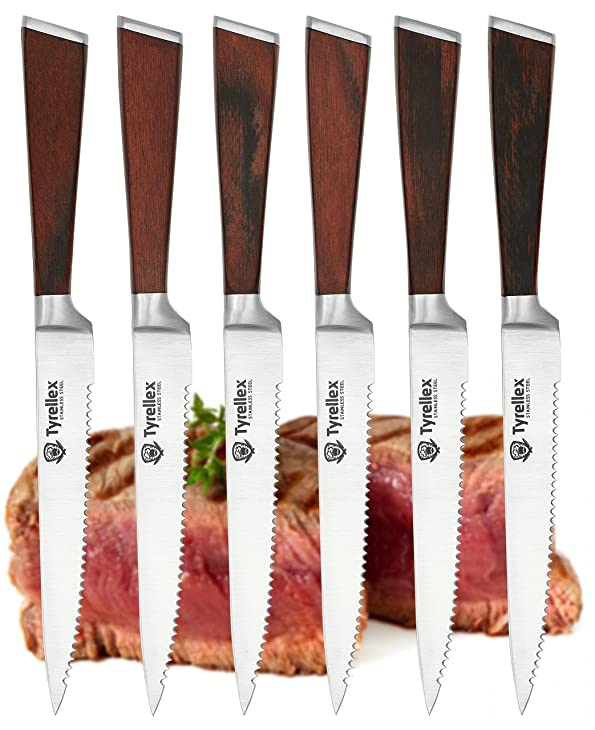 Tyrellex Steak Knives